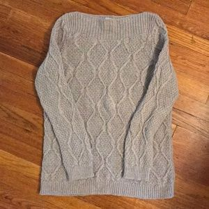 Loft By Ann Taylor Cable Knit Sweater